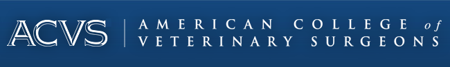 American College of Veterinary Surgeons