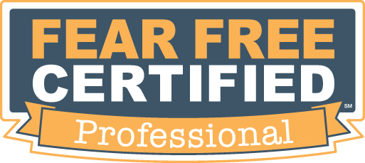 veterinary clinic - Fear Free Certified Professional logo